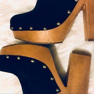 Shoes - Black heels - mules